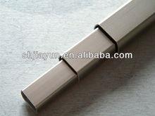6061 6063 T6 T5 lacquer aluminium collapsible tube for stair edge protection aluminium price per kg in shanghai