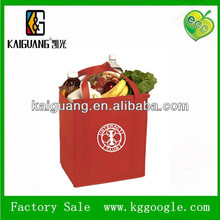 high quality silk screen eco bags nonwoven tote bag nonwoven shopping bag
