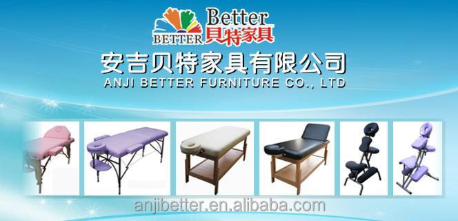 Mieux 2015 bois table de massage 2 section, Produits de soins de santé