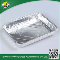 Durable using quality-assured aluminium foil food containers