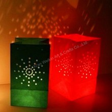 Wedding luminaire candle bags