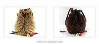 Crochet tassel straw bag factory outlet small pepper style