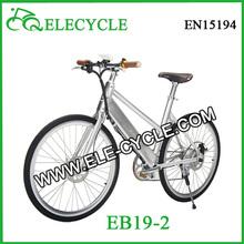 ELECYCLE Eb19 Girl 250W SUMSUNG Core Keyless Start 26'' folding Fashionable Electric City BIke/Bicycle from Jiangmen, China