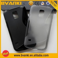 New S Line TPU Soft Case Cover For Samsung Galaxy S5 Sport G860P,For Custom Cell Phone Case Samsung S5 Acces,New Matte Tpu Case
