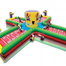 2015 new design inflatable 4 men equalizer/ inflatable sport game