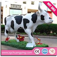 4m amusement park animated cow