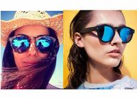Vintage Round Sunglasses Women Fashion Designer Eyewear UV400 Gradient Female Retro Sun Glasses Brand Points Sun Women 2015 New