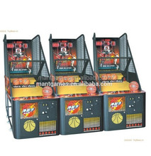 MT-SP031 simulator game basketball shoot machine for sale