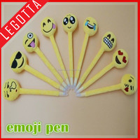 Innovational selling best cheap price emoji pillow charms ballpoint pen