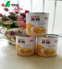 Organic food canned yellow peach calories top quality canned