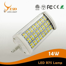 14W LED R7S Lamp With 118mm Length Special Creation for Your Active Life 180 Degree Lighting Led
