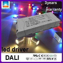 DALI 5500mA 12V 80w constant voltage AC input One channel DALI led power driver
