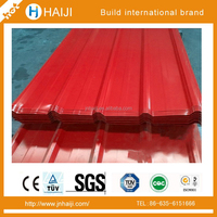 galvanized or galvanised colourful steel sheet used for corrugated roof tile and walls