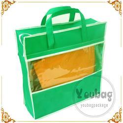 Fashion silkscreen printing non woven tote bag for wholesales