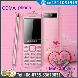 k169 cdma mobile phone 1.8 inch pink cell phone cdma 800 mhz 1200 mah cheaper qualcomm mobile phone with GPRS beauty shape