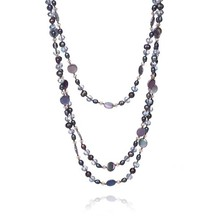 shell crystal bead chain necklaces designs