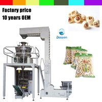 Automatic bag packing machine for lotus seed/stamennelumbinis weighing packing machine
