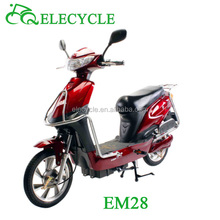 em28 450W brushless motor electric motorcycle with pedal
