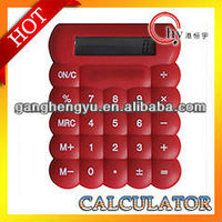 Silicone Calculator,gift promotional calculator,silicon rubber calculator