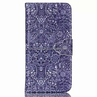 2015 Hot selling classic colorful painting PU leather with card slot mobile phone case for Sumsung S3 S4 S5 S6 EDGE NOTE 5