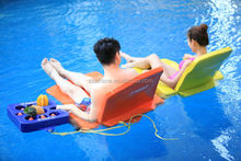China Factory Supply Super Soft Fabric Adjustable Pool Float Chair and Swimming Pool Floating Water Games