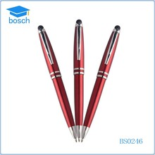 Promotional metal twist action ball pen tip making machine,cheap touch pen