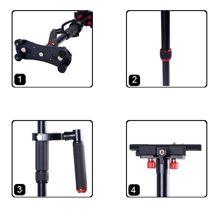 2016 trending products,Kingjoy dslr stabilizer for tripod or camera