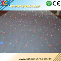 Portable starlit led stage curtains for sale