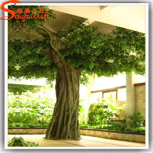 indoor outdoor large decoration artificial banyan tree view artificial banyan tree songtao. Black Bedroom Furniture Sets. Home Design Ideas