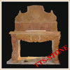 Natural White Carved Stone Wash Basin