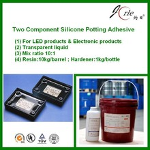 two component potting glue for contorller