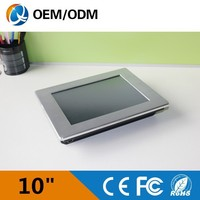alibaba china 10 inch embedded panel pc 12v latest desktop computers