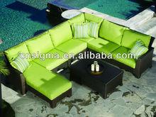 Rattan Outdoor Furniture Malibu 6 Piece Sofa Set