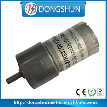 DS-27RS370 low nosie 1000 hour lifespan 12v brushed electric dc motor with gearbox