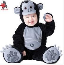 Cosplay cartoon mascot costume doll baby monkey professional performance clothing