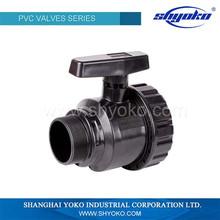 PVC High Pressure Male Thread Ball Valve