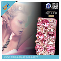 Newest! Hot Selling 2015 Newest fashionable luxury Diamond back cover case For Iphone6/6plus/5s/4/4s