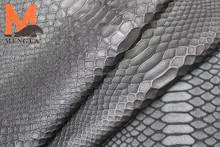 genuine elastic leather stretch leather sheep skin embossed crocodile skin