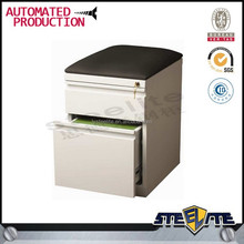 iCab series steel mobile filing cabinet with cushion