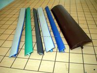 Plastic pvc kitchen cabinet shelf edge banding