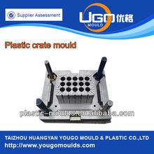 cajón de plástico contenedor de molde de plástico de cerveza molde molde del cajón de china de la empresa