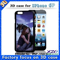 Popular and newest 3d animal and sexy girl image case for iphone