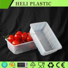 PET square fruit SHAPE container WHOLESALE FACTORY