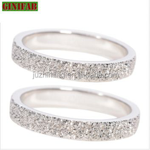 couple rings for lovers 925 Sterling Silver rings 2015 newest design fashion CZ stone rings hot sale fine jewelry