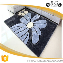 luxury 100% polyester shaggy carpet bedroom decorating
