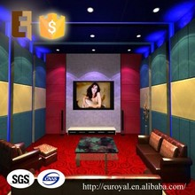 Wholesale Home Cinema Interior Wall Soundproof Decorative Material Insulation Acoustic Panel