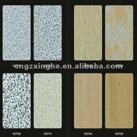 acm aluminium exterior wall cladding plastic/sell aluminum composite panel