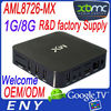 Factory supply HDMI XBMC vga output android tv box EM6