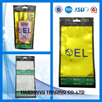 best selling plastic products cell phone pouch zipper bag