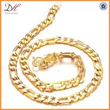 New design O shape 18K gold chain necklace for men